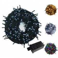 300 Count Twinkly Led String Lights With 8 Lighting Mode,Low Voltage Fairy Lights For Indoor Outdoor Christmas Tree
