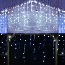 2020update 300led icicle lights,icicle style lights cool white