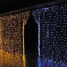 360 LED 9.8ft x 6.6ft Window Curtain String Light 8 lighting modes