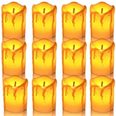 Tealight Candles Battery Operated, LED Votive Candle,Flameless Tea Lights