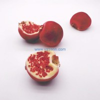 Artificial Half Pomegranate Artificial Fruits Artificial Lifelike Home Christmas Party Decoration Kitchen Table Display Decoration