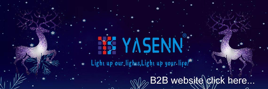 YASENN LIGHTS AND LED CANDELS